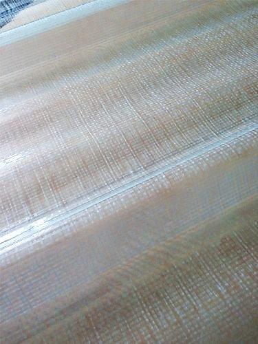 Plaque polyester renforcée