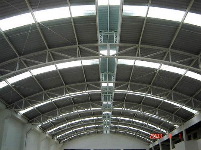 Plaque polyester en fibre de verre - Lariver - plaques ondulées translucides