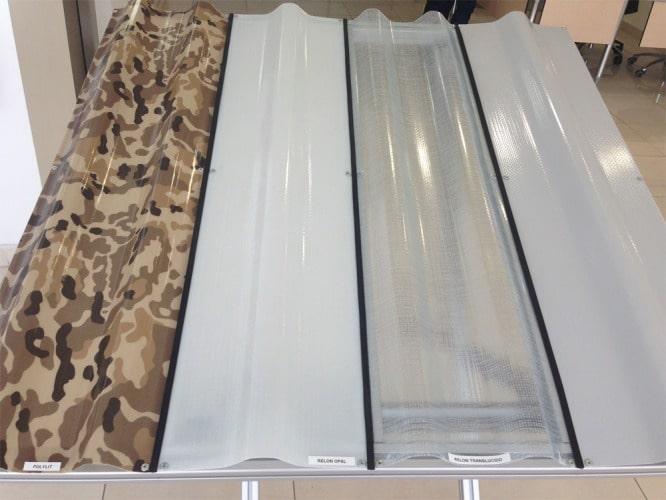 Relon Plaque polyester renforcée