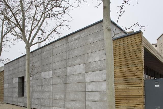 Bardage Panneaux bois-ciment viroc
