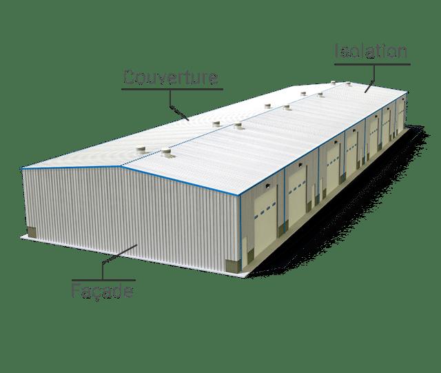 Matériaux de construction - Isolation Couverture Bardage