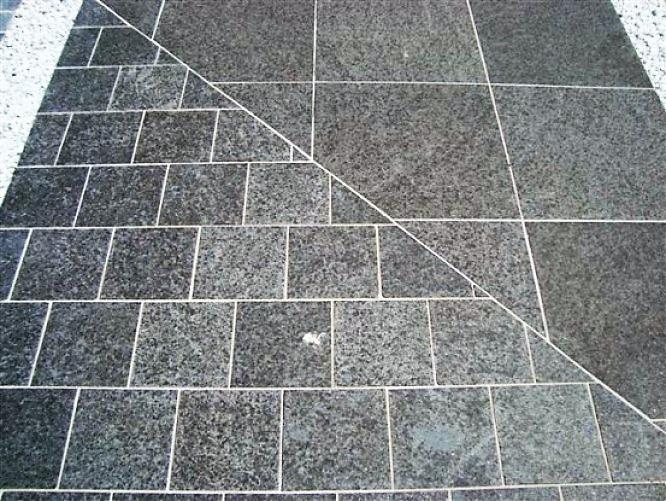 Granit sol allée