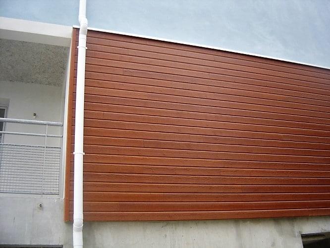 Facade immeuble marron Clin Bois Cape Cod