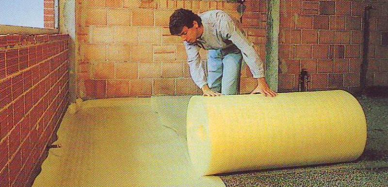 Rouleau isolant polyéthylène
