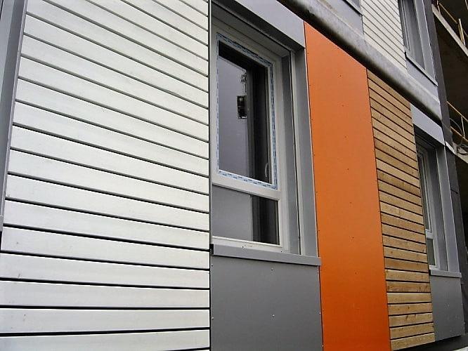 Facade immeuble Clin Bois Cape Cod couleur