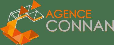 Logo clair Agence Connan