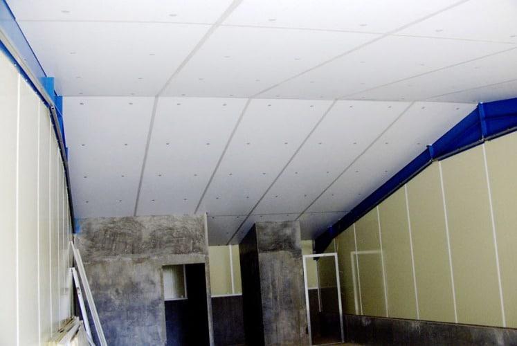 Isolation plafond pour bâtiment agricole et industriel